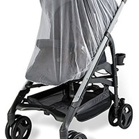 Baby Mosquito Net for Strollers, Carriers, Car Seats, Cradles. Fits Most Pack'n'Plays, Cribs, Bassinets & Playpens. 44 x 48 Inch, Made of White, Portable & Durable Baby Insect Netting