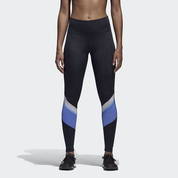 adidas Women's Wanderlust Yoga Tights - Blue | adidas Canada