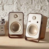 Polk Audio Hampden Desktop Speakers- White One