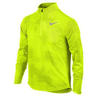 Nike Store. Nike Jacquard Element Half-Zip Boys' Running Shirt