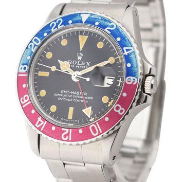 ROLEX USED - GMT MASTER REF 1675 WITH PEPSI BEZEL