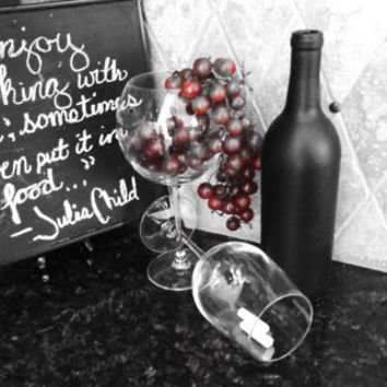CHALKBOARD WINE BOTTLES Blackboard wine bottles wedding kitchen centerpiece party table bar restaurant decor bulk