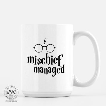 Mischief Managed Harry Potter Mug