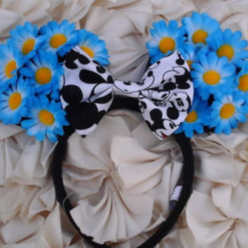 Sunflower Minnie Ears