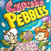 Post Cupcake Pebbles Cereal, 11oz (Pack of 4)