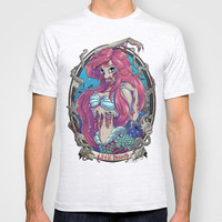 Zombie Little Mermaid T-shirt by Liquidsugar | Society6