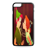 Peter Pan and Wendy Kissing iPhone 6 Plus case