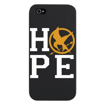 Hunger Games Hope iPhone 5 Case by Admin_CP706546