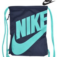 NIKEHERITAGE GYM BAG - NAVY