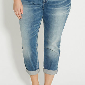 Silver Jeans Co. ® plus size cropped boyfriend jeans | maurices