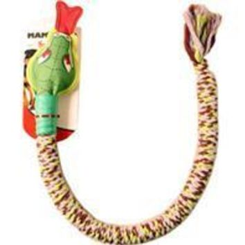 Mammoth Pet Products - Snakebiter Squeaky Head Dog Toy