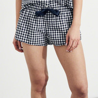 Gilly Hicks Curved Hem Woven Sleep Shorts | Gilly Hicks Sleepwear & Lounge | HollisterCo.com