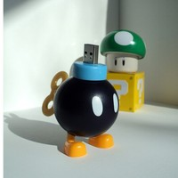 8GB Bob-Omb from Nintendo Super Mario Bros. USB Flash Drive
