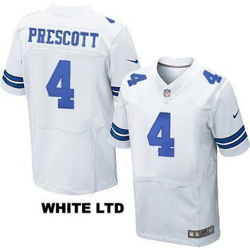 KUYOU Dallas Cowboys Jersey - Dak Prescott Jerseys - Men's Five Styles To Choose From