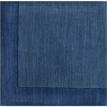 Surya Mystique M308 Blue Solids and Borders Area Rug