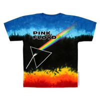 Pink Floyd - Dark Prism Tie Dye T Shirt on Sale for $22.95 at HippieShop.com