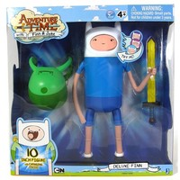"""Adventure Time 10"""" Figure - Super Posable Finn with Changing Faces - Adventure Time Figures"""