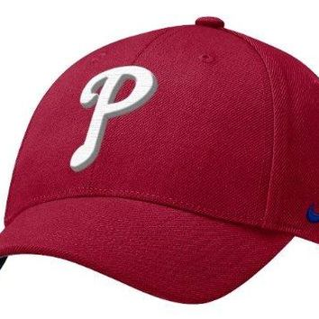 Nike Philadelphia Phillies Red Wool Classic Low Crown Adjustable Hat