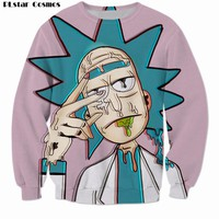 Trippy Rick Mens Sweatshirt