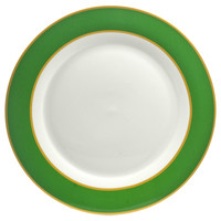Taylor Dinner Plates, Emerald, Set of 4, Dinner Plates