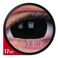 ColourVue Black Mini Scleral Coloured Contacts