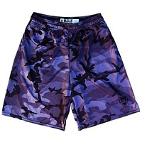 Tribe Black Camo Lacrosse Shorts