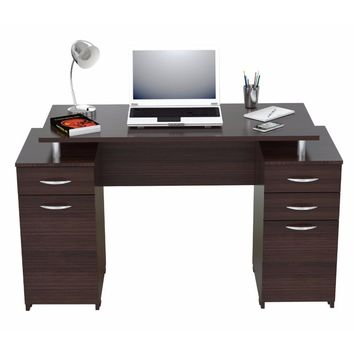 Computer Desk with Four Drawers