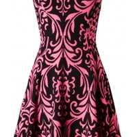 Sweetheart Printed Dress