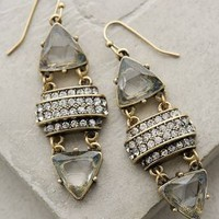 Rio Jeweled Drops by Anthropologie Grey One Size Earrings