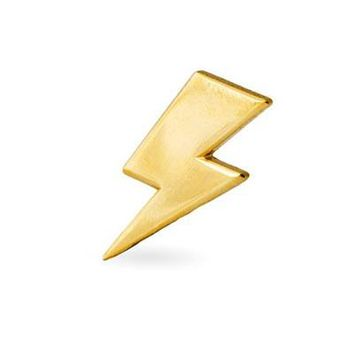 These Are Things Pin - Lightning Bolt