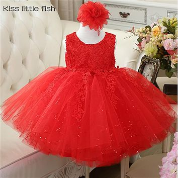 Free shipping Real photo  Lace  flower girl dresses  kids evening gowns girls dress  Cheap dresses for girls Free send petticoat