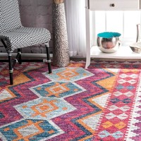 nuLOOM Mellie Tribal Area Rug