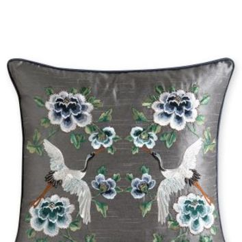 Buy Mirror Floral Embroidery Cushion online today at Next: Deutschland