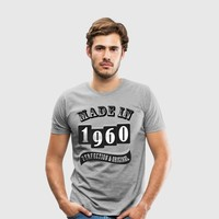 MADE IN 1960 Special T-Shirt by IM DESIGN CREATIVE | Spreadshirt