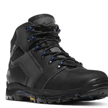 """Danner VICIOUS 4.5"""" Black Boots Plain Toe EH Rated"""