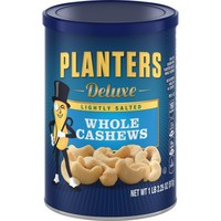 Planters Deluxe Whole Cashews Lightly Salted, 18.25 OZ (517g) - Walmart.com
