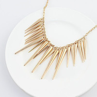 Spike Stud Collar Necklace