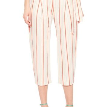 Parker Ramsey Stripe Cotton Twill Pants | Nordstrom