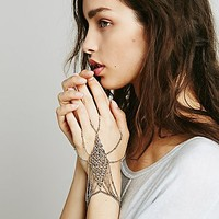 Free People Womens Chainmail Handpiece