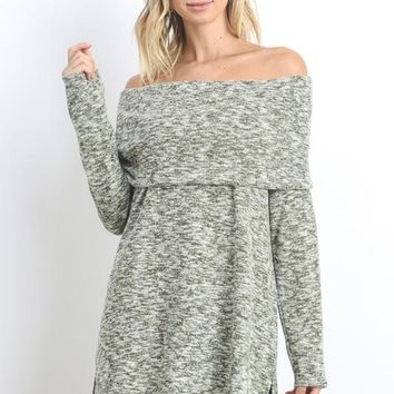 Olive Off The Shoulder