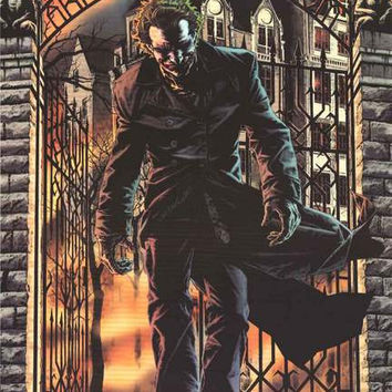 Batman The Joker Arkham Asylum Poster 24x36