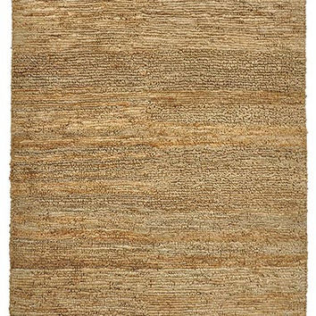 Grand Handspun Jute Area Rug in Natural design by Classic Home