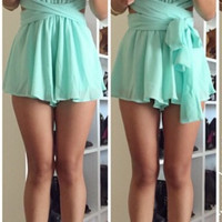 Multiway Playsuit - Mint