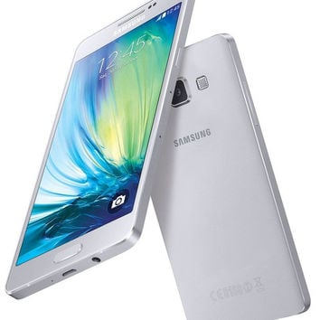 "Samsung Galaxy A5 Duos SM-A500H/DS White (FACTORY UNLOCKED) 5.0"" 13MP, Dual Sim"