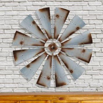 COUNTRY WINDMILL WALL DECOR