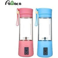 USB Electric Fruit Juicer Cup Mini Squeezers Reamers Portable