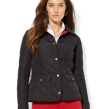 Lauren Ralph Lauren Quilted Riding Jacket