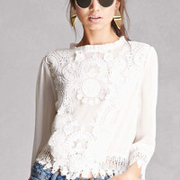 Button-Back Crochet Top