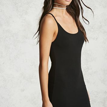Scoop Neck Cami Dress