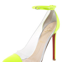 Christian Louboutin Unbout Illusion Red Sole Pump
